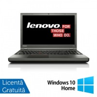 Laptop LENOVO ThinkPad T540P, Intel Core i7-4810MQ 2.80GHz, 8GB DDR3, 240GB SSD, DVD-RW, Full HD, Fara Webcam, 15.6 Inch + Windows 10 Home