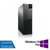 Calculator Lenovo M81 SFF, Intel Core i5-2400 3.10GHz, 8GB DDR3, 120GB SSD, DVD-RW + Windows 10 Pro